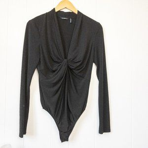 Guess by Marciano Long Sleeve Bodysuit Medium